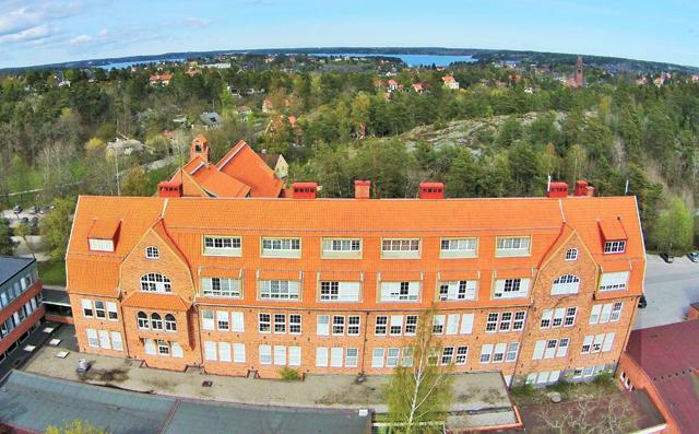 Takomläggning i Stockholm